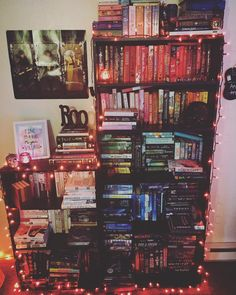 "bookdrunkinlove: "" It's time  "" I Love Books, Books To Read, My Books, Book Fandoms, Cool Bookshelves, Bookcase, Ladder Bookshelf, Dream Library, Library Books"