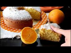 Ciambella all'arancia della mamma – Anche Bimby