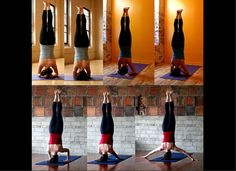 7 headstands. Happy to say I've tried them all.