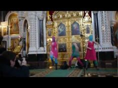 Russian riot girls.  good punk music.