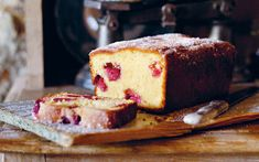 Raspberry, lemon and yogurt tea loaf recipe - Telegraph This is a super yummy teatime treat.