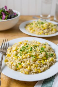 Recipe: Sweet Corn Risotto — Weeknight Dinner Recipes from The Kitchn | The Kitchn