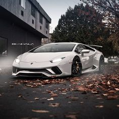 Huracan Superleggera?  Sitting on PUR WHEELS