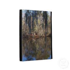 Waccamaw River Reflections iPad Folio Cases