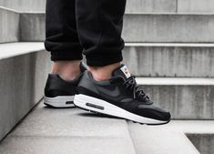 c9b535f6cd NIKE AIR MAX 1 - 'SATIN PACK' BLACK, ANTHRACITE & WHITE TRAINERS ALL SIZES