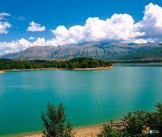 Peruća lake, Croatia.