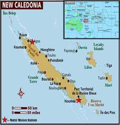 Caldoche White People Born In New Caledonia New Caledonia - New caledonia map