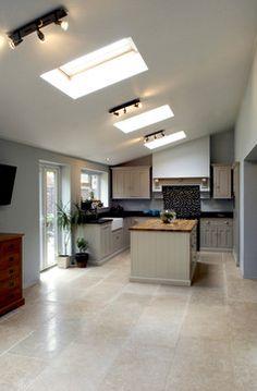 'Dijon' Tumbled Limestone Flooring - modern - Kitchen - East Midlands - Stones of Croatia
