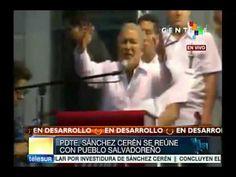 Por El Salvador yo voy a soñar, yo me voy a sacrificar: Sánchez Cerén