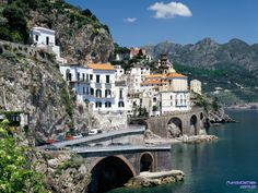 Amalfi Cost - Salermo - Italy.    Surprise trip to Italy this spring.