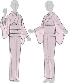 「着物をそれっぽく描くポイント」 [20]