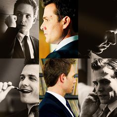 Gabriel Macht and Patrick J. Adams / Harvey Specter and Mike Ross
