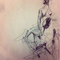 I just love pencil drawing!   by Karla Cruz, Mexico, 2012   Photo by karlacruz_