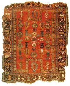 Turkish Konya Rug 17th Century Ancient Near East, Oriental Rugs, Textile Fabrics, Turkish Rugs, Tribal Rug, Room Rugs, 17th Century, Rugs On Carpet, Folk Art