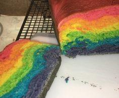Regenbogen-Brot / Rainbowbread