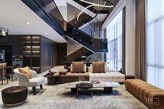 Home Building Design, Home Room Design, Dream Home Design, Modern House Design, Interior Design Living Room, Living Room Designs, Luxury Home Decor, Luxury Interior, Interior Architecture