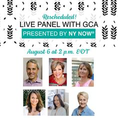 "Reminder: Join Stationery Trends, Gift Shop Magazine and the GCA on August 6th for a live event, including panelists from the GCA and friends of the GCA. The main discussion will focus on several GCA initiatives including the first virtual LOUIE Awards, ""Thinking of You Week"" and more. {Sponsored}"