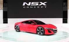 Red Acura NSX Concept – New Photos from Beijing Auto Show