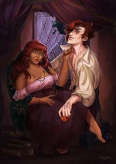 A Night In by truei on DeviantArt Fantasy Drawings, Cool Drawings, Fantasy Art, Daddy Long, Image Fun, Anime Guys, Hot Anime, Anime Couples, The Magicians