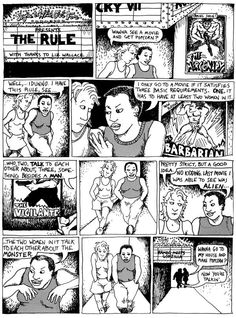 The Bechdel Test for gender-bias, lesbian comics, queer graphic memoirs: Alison Bechdel is making history Patricia Arquette, Alison Bechdel, 10 Film, Kids Tv Shows, Hollywood, Female Characters, Movie Characters, Comic Strips, Pop Culture