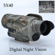 148.92$  Watch here - http://aliroj.worldwells.pw/go.php?t=32754242668 - camouflage digital monocular infrared night vision goggles 5X40 night vision scope Takes Photos Video with TFT LCD for hunting 148.92$