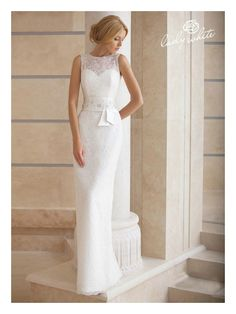 """Agate, by Lady White - available at Blissfully Bridal - such a gorgeous dress for the more """"mature"""" bride"""