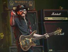 The recently deceased Motörhead legend Lemmy. R.I.P. December 2015