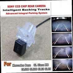 53.90$  Watch here - http://aliznw.worldwells.pw/go.php?t=32691439184 - Smart Parking Camera For Mercedes Benz MB CL CL 500 CL 600 CL 63 CL65 AMG 2007~2012 Car Reverse Rearview Tracks Module CCD Night