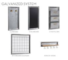 Build Your Own - Galvanized System Components #potterybarn