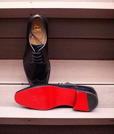 for these, i'd keep my shoes on. (christian louboutin)