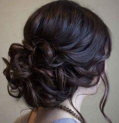 Meu penteado de casamento!