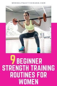 a fullbody strength workout for beginner weight lifters