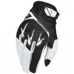 2015 One Industries Atom Gloves - White Black