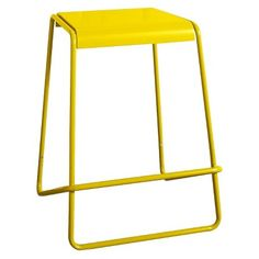 TOO by Blu Dot Plop Counter Stool in yellow   TARGET $60