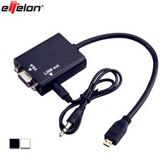 >> Click to Buy << Effelon 1080P Gold Plated Micro HDMI to VGA with Audio Adapter Cable Converter for PS3 XBOX 360 TV HDTV Andorid TV Box #Affiliate