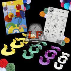 Pom Pom, Plástico (4 jogos) Imra