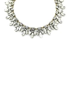 Silver Leaf Necklace by Eye Candy Los Angeles
