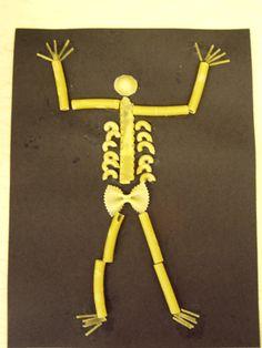 Skeletons kindergarten study