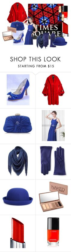 """""""2018 time square ball drop"""" by miamastore-france on Polyvore featuring moda, Dolce&Gabbana, Loewe, Lands' End, WithChic, Urban Decay, By Terry, Chanel e Yves Saint Laurent"""