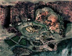Набросок Гнисиса. Летописи Тамриэля: Morrowind & Oblivion