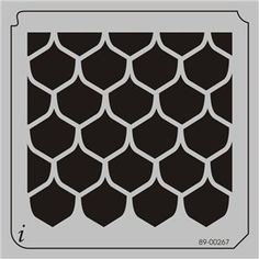 1000 images about scallop fish scale on pinterest fish for Fish scale stencil
