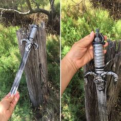 """346 Likes, 9 Comments - @eat.sleep.cache.repeat on Instagram: """"You have probably heard of the sword in the stone 🗡 but have you heard of the sword in the stump? 😂…"""""""