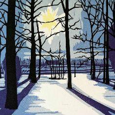 Fairy Woods in Winter - Amanda Gordon Miller