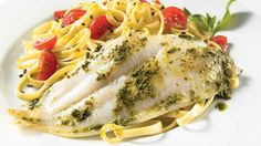 An easy to realize fish recipe: Pesto Sole Fillet Sole Fillet Recipes, Sole Recipes, Shellfish Recipes, Seafood Recipes, Cooking Recipes, Healthy Recipes, Healthy Food, Seafood Dishes, Steak