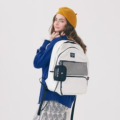 Handbags - I think they were my first fashion love (and if I had design skills, I would love to beco Stylish Backpacks, Girl Backpacks, Backpack Outfit, Fashion Backpack, Mochila Adidas, Cool School Supplies, Cute Stationery, Nylon Bag, School Bags