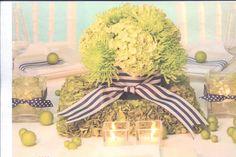 Bridal Party Table Arrangement