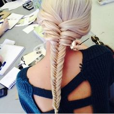 ♥♥Love fishtail braids!
