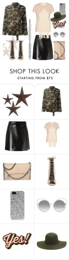 """""""Star...."""" by unamiradaatuarmario ❤ liked on Polyvore featuring jcp, Yves Saint Laurent, MICHAEL Michael Kors, STELLA McCARTNEY, Kendall + Kylie, Marc Jacobs, Anya Hindmarch and camostyle"""