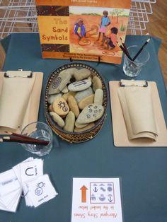 Exploring indigenous symbols at Pied Piper Preschool