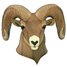 Big Horn Ram Intarsia Pattern